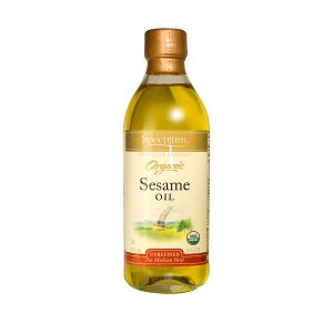 Sesame Oil, Organic, Unrefined