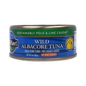 Wild Albacore Tuna (No Salt)