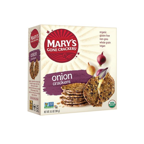 Mary's Gone Crackers Onion