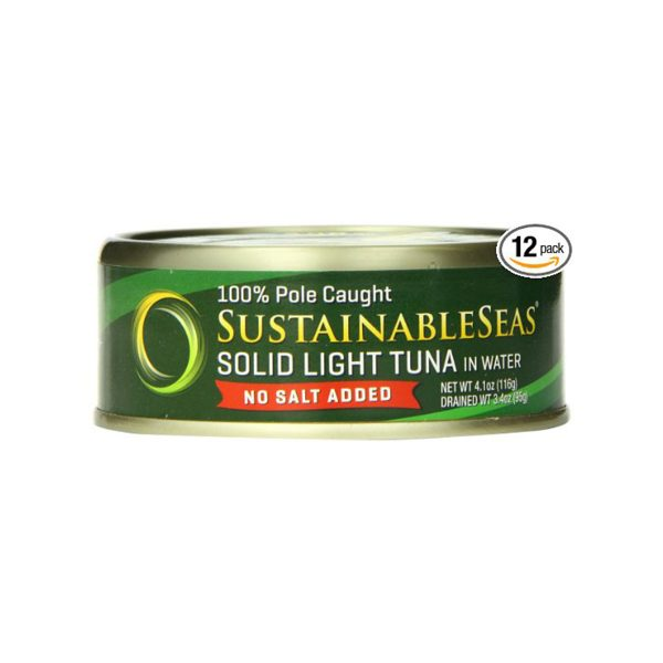 Solid Light Tuna 100% Pole Caught No Salt